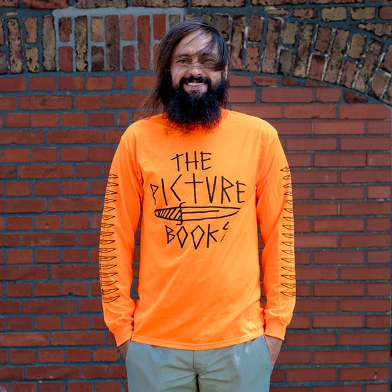 Image of Dagger Long Sleeve Neon Orange