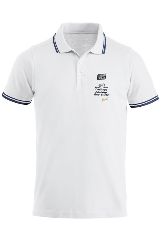 Image of POLO SHIRT with Challenger Sails Embroidered Logo