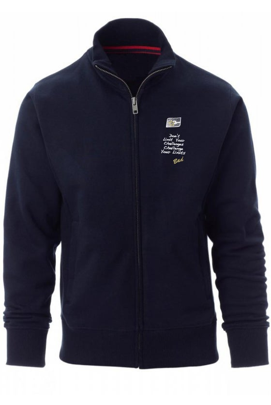 Image of CHS FULL ZIP SWEATSHIRT with Challenger Sails Embroidered Logo
