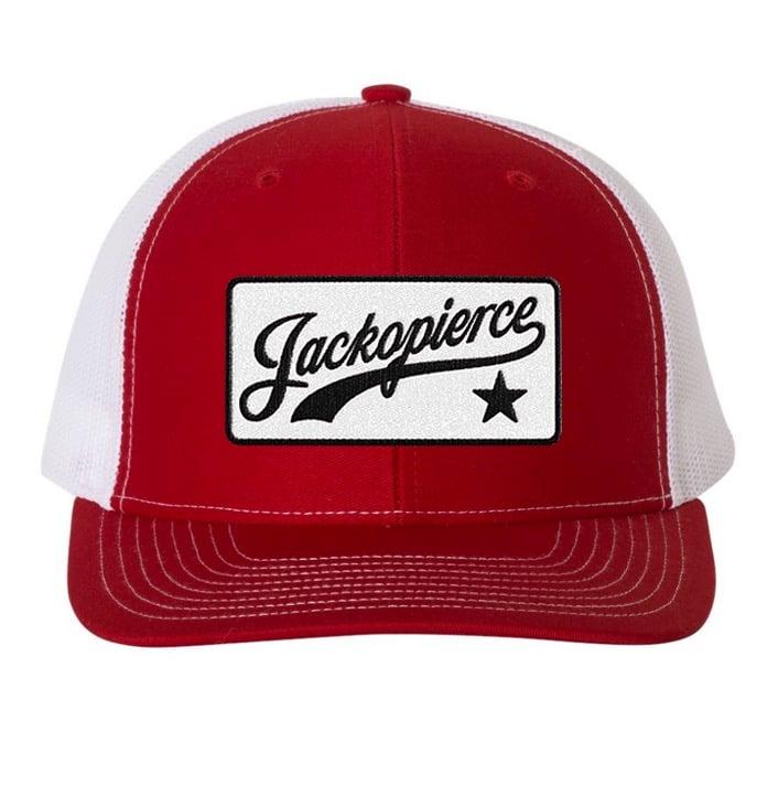 Image of JP Trucker Hat - Red/White