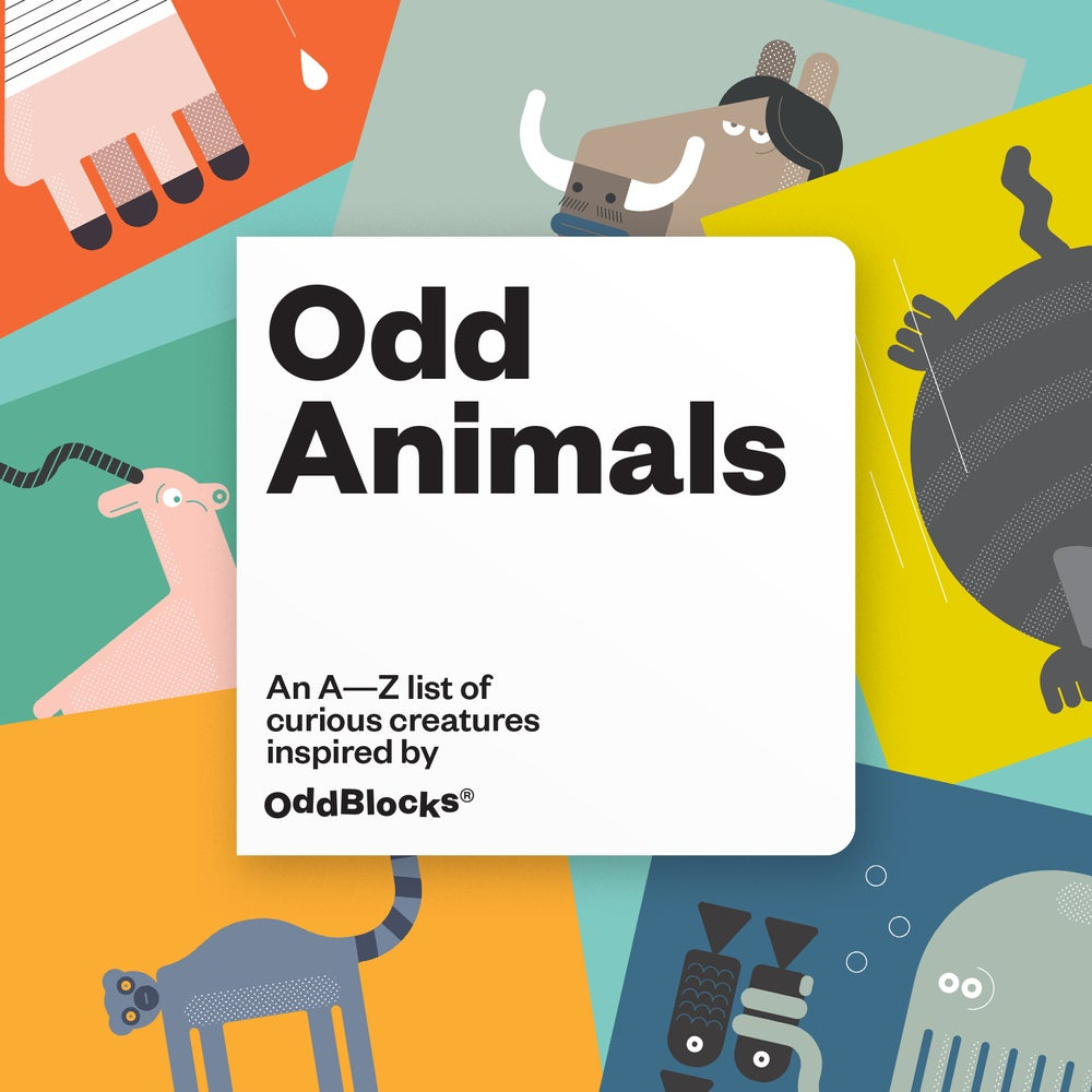 Image of OddAnimals: Readalong book