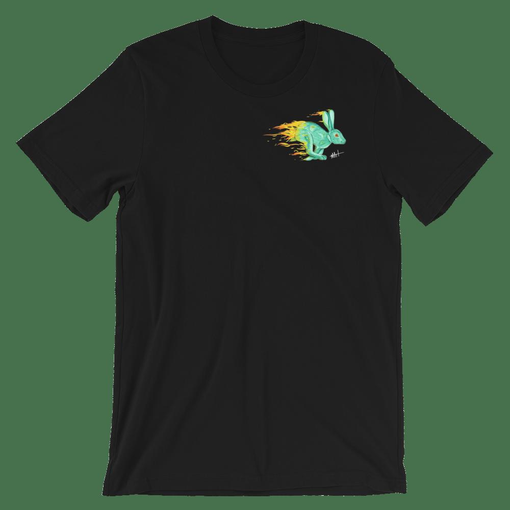 Image of Fire Rabbit V2 T-Shirt Black