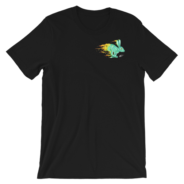 Image of Fire Rabbit V2 T-Shirt Black