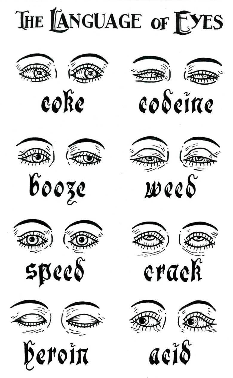 Image of The Language Of Eyes print