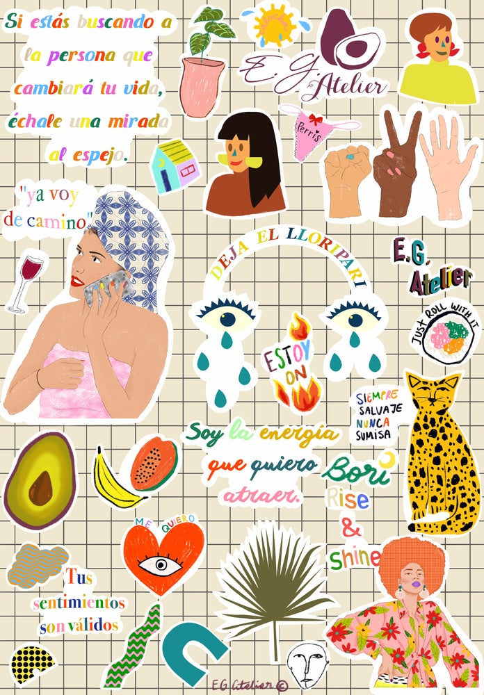 Image of Sticker Sheet No. 2