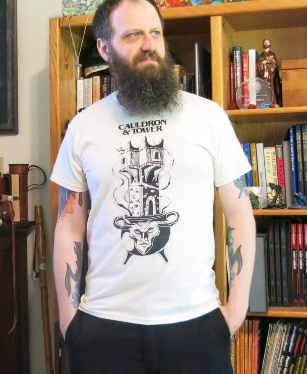 "Image of Cauldron & Tower ""Witch's Milk"" Edition T-Shirt"
