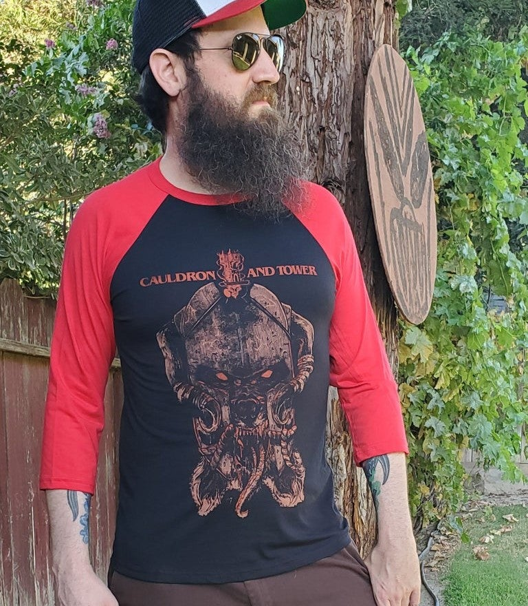 "Image of ""Wolf Lord of Yol"" ""Blood Rage"" Edition Raglan"
