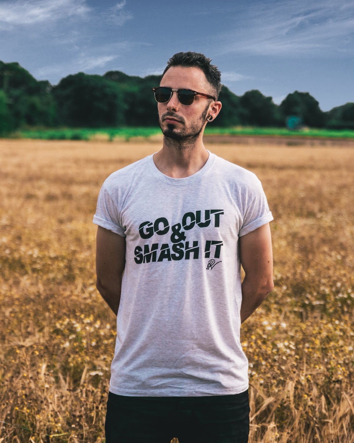 """Image of Go Out And Smash It """"GOASI"""" T-Shirt"""