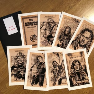 """Image of """"Necronomicon: Songs of the Dead"""" - Limited Edition Giclee Set"""