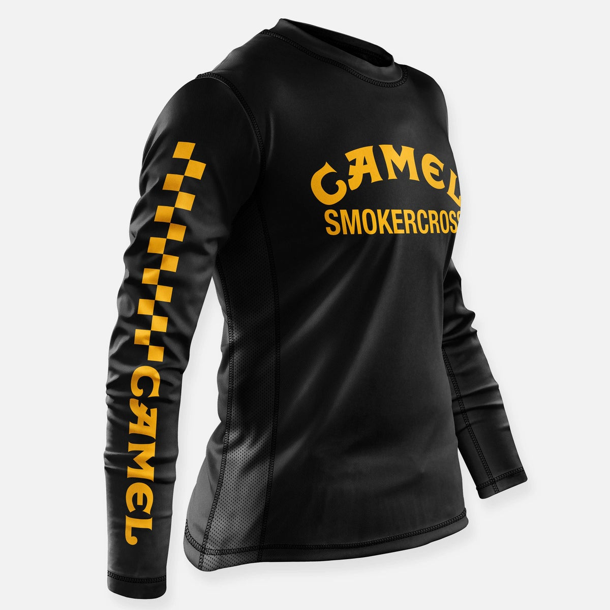 Image of CAMEL SMOKERCROSS JERSEY BLACK