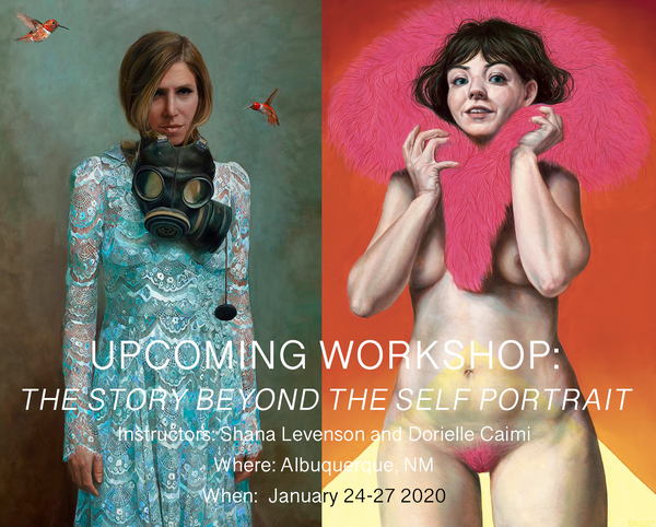 Image of The Story Beyond the Self-Portrait, with Shana Levenson and Dorielle Caimi