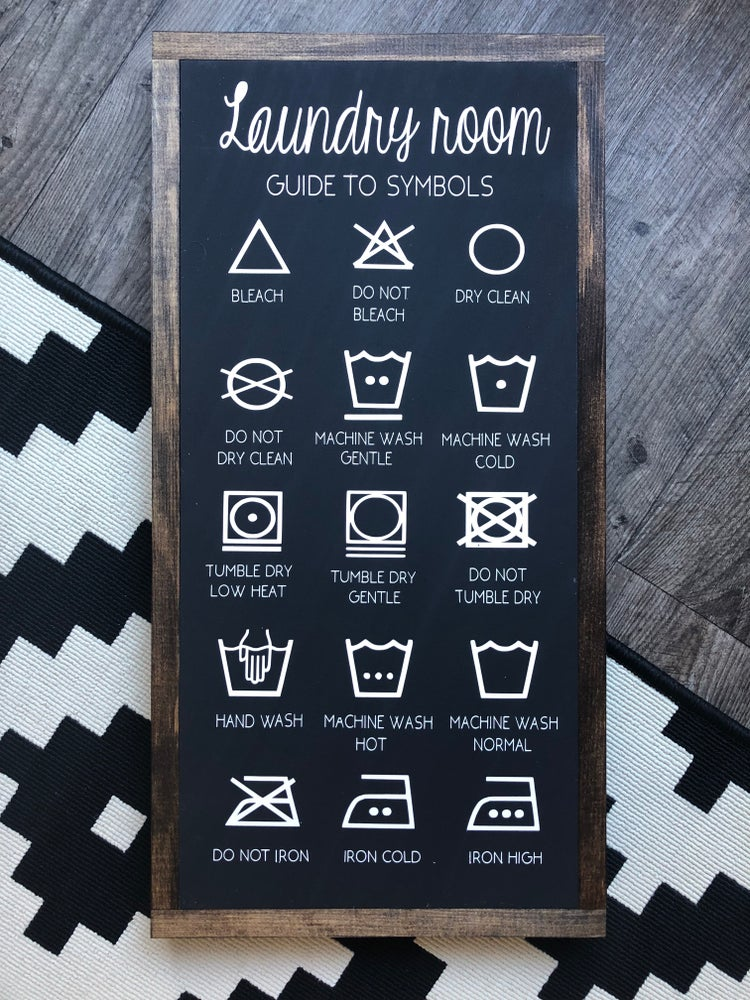 Image of Laundry Symbols