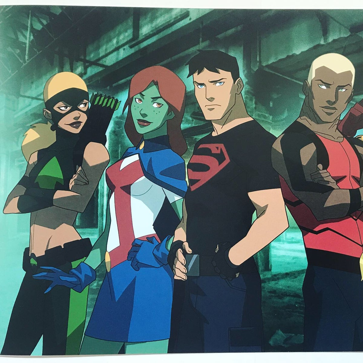 Image of The Team *LIMITED EDITION* Young Justice Print