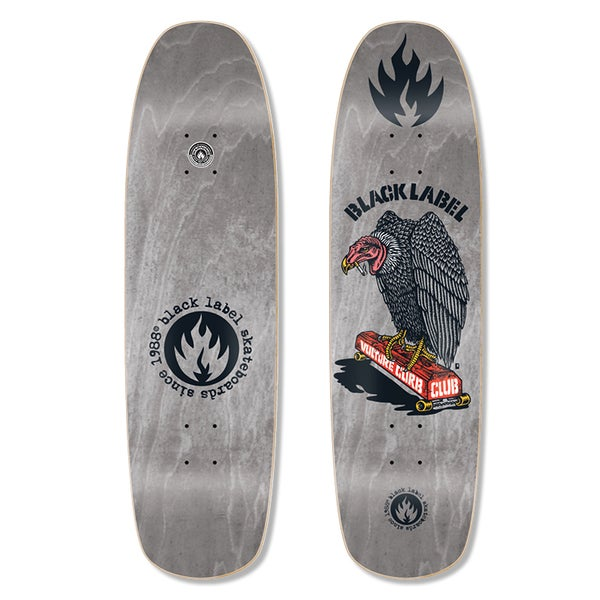 "Image of ""Vulture Curb Club"" 8.88″ x 32.25″ (Grey Stain)"