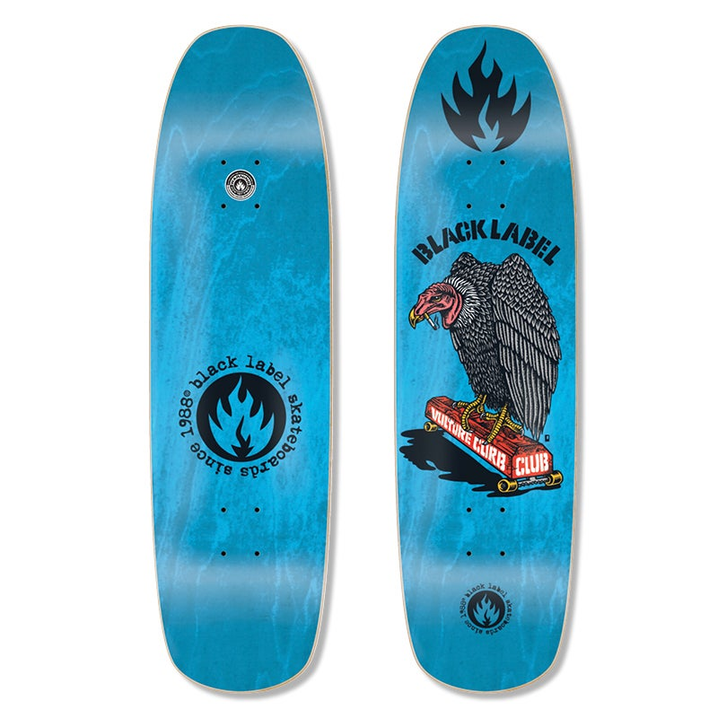 """Image of """"Vulture Curb Club"""" 8.88 x 32.25 (Blue Stain)"""