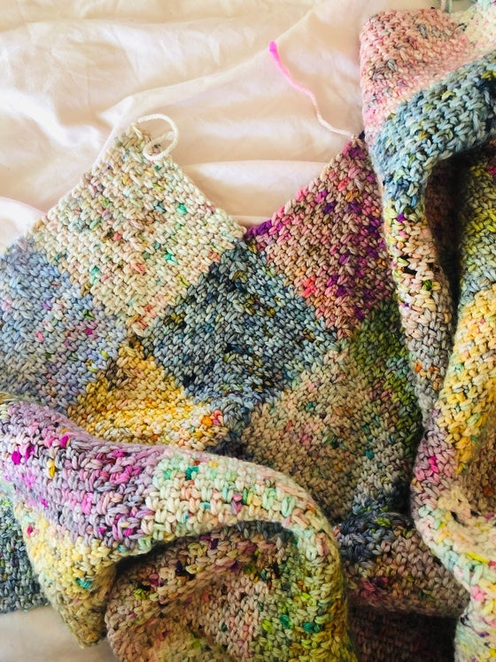 Image of Crochet 'Speckled Blanket'  with Jacqui from Soul Yarn Sat Oct 5th 1-4pm