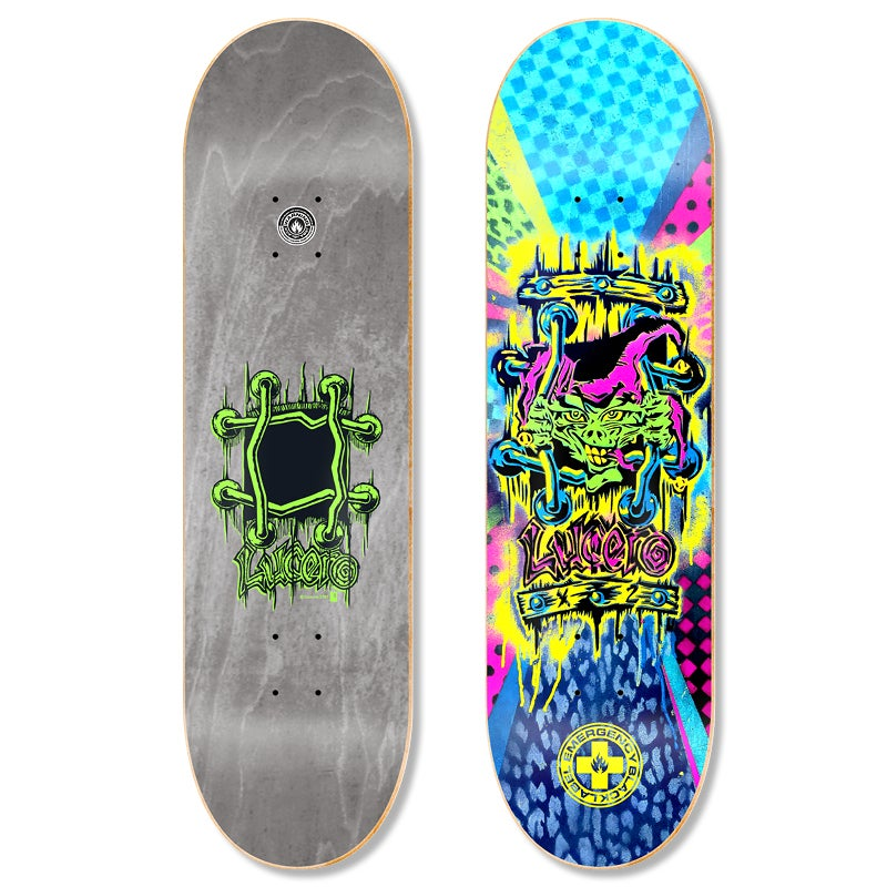 "Image of John Lucero ""Spray X-2"" 8.68″ x 32.63″ deck"