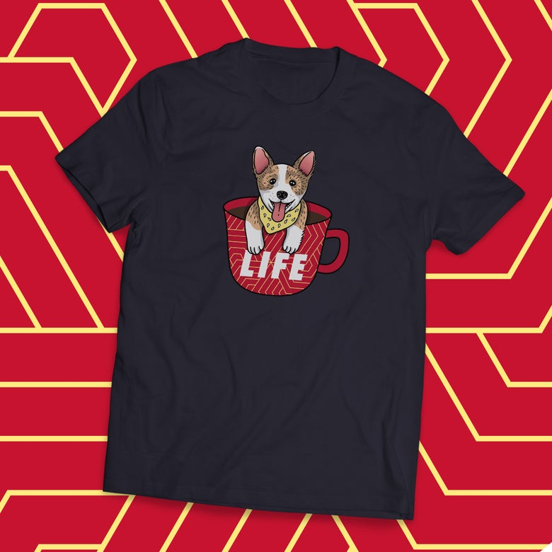 Image of Coffee is Life   T-Shirt