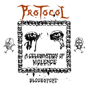 "Image of PREORDER PROTOCOL ""Bloodsport"" One-Sided 12"" vinyl"