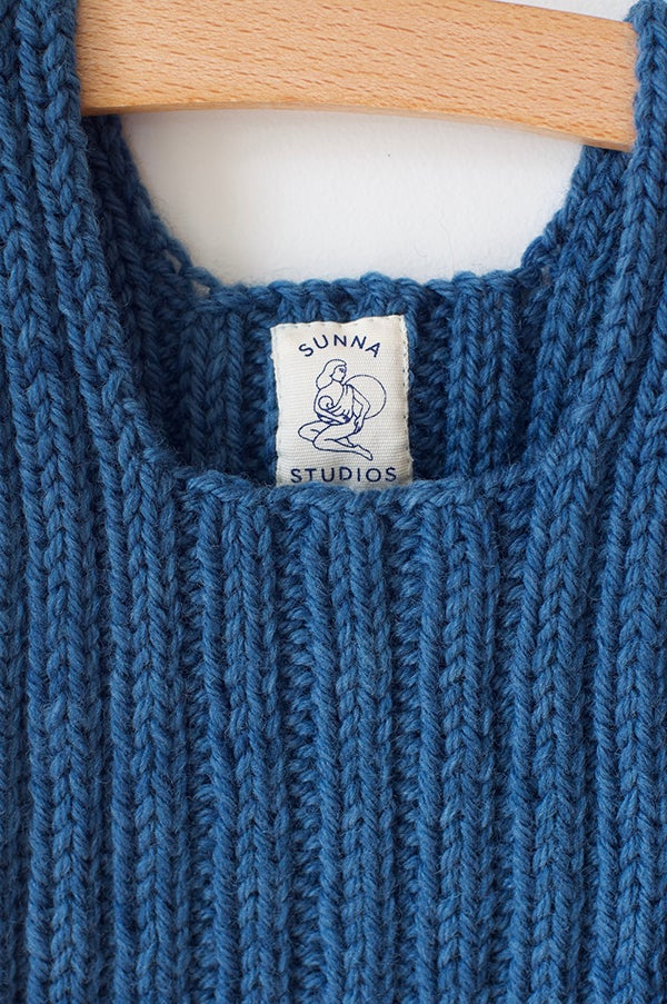 Image of Indigo Wool Vest