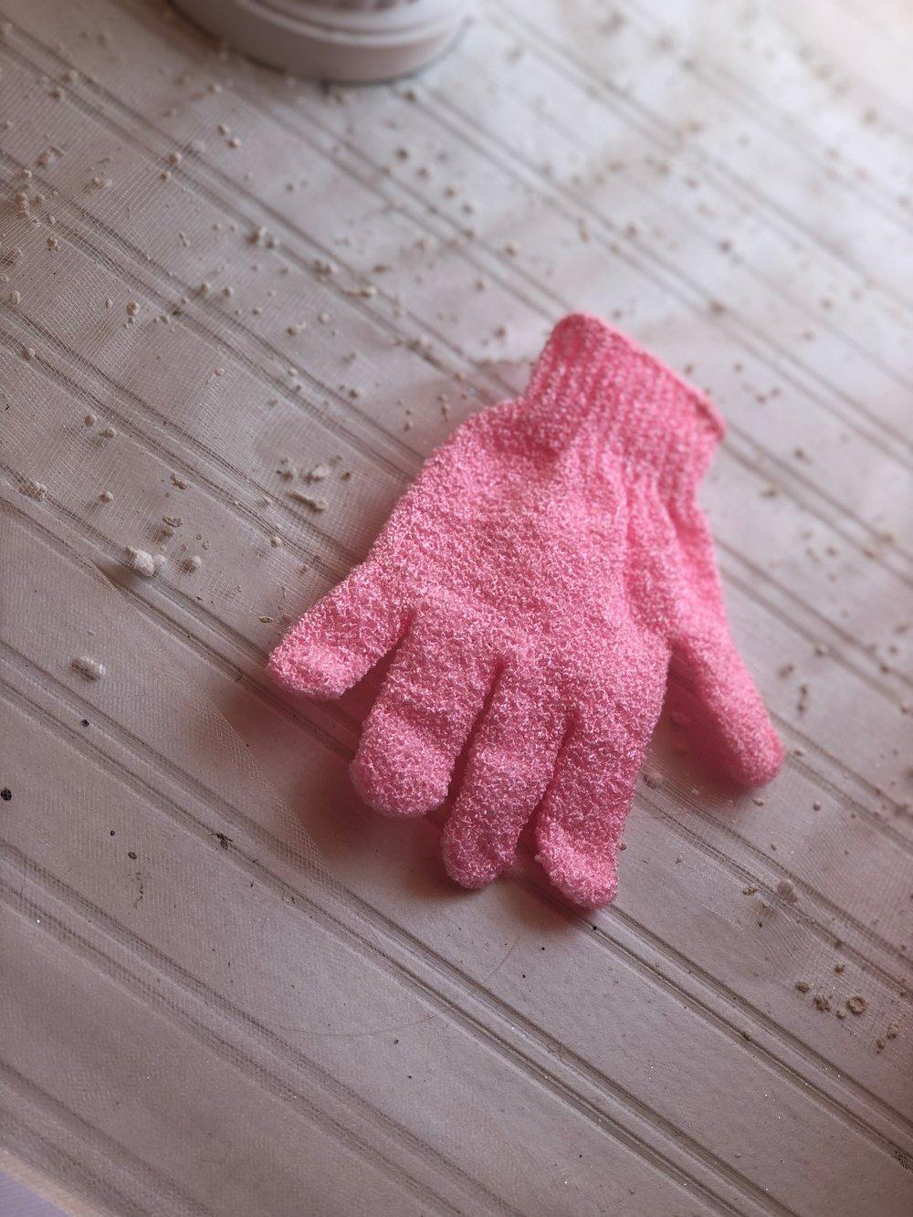 Image of Velvet Exfoliating Glove