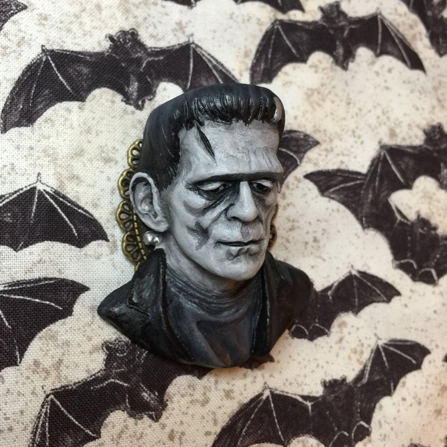 Image of PRE ORDER Frankenstein's Monster Brooch