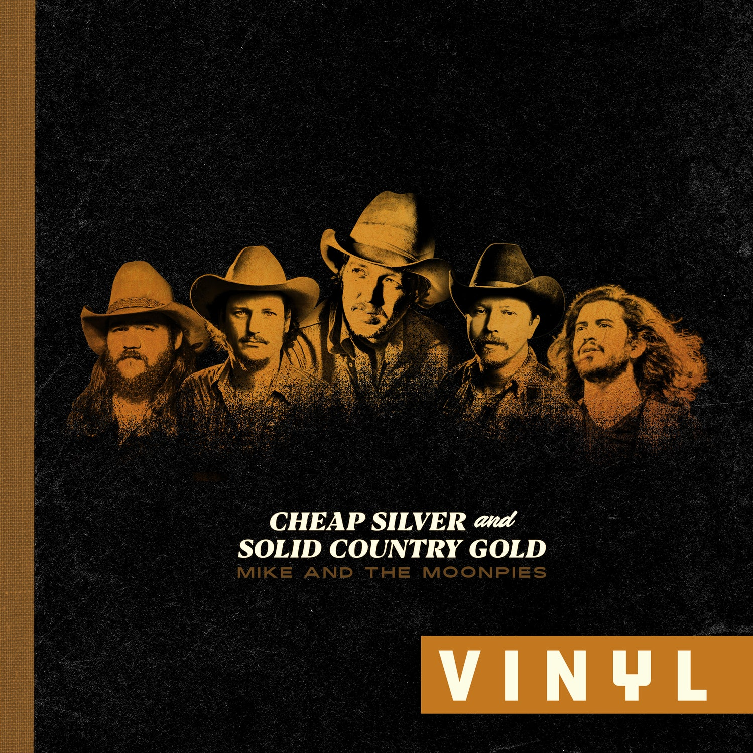 Image of VINYL Cheap Silver and Solid Country Gold