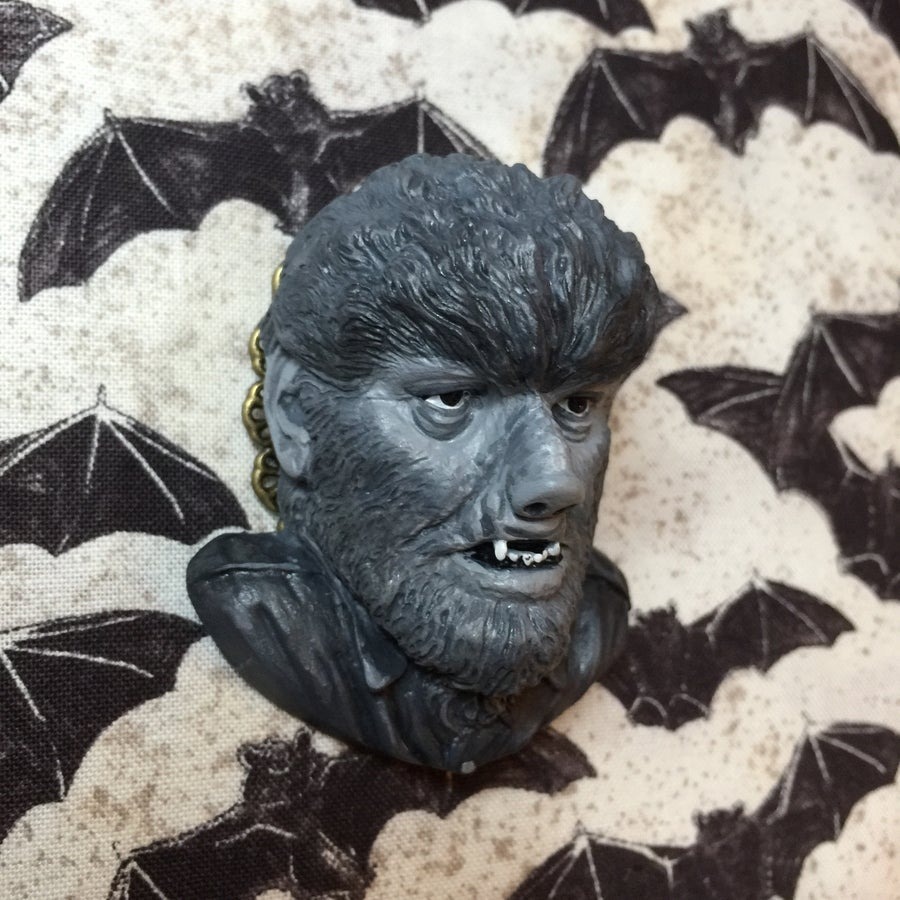 Image of PRE ORDER The Wolfman Brooch