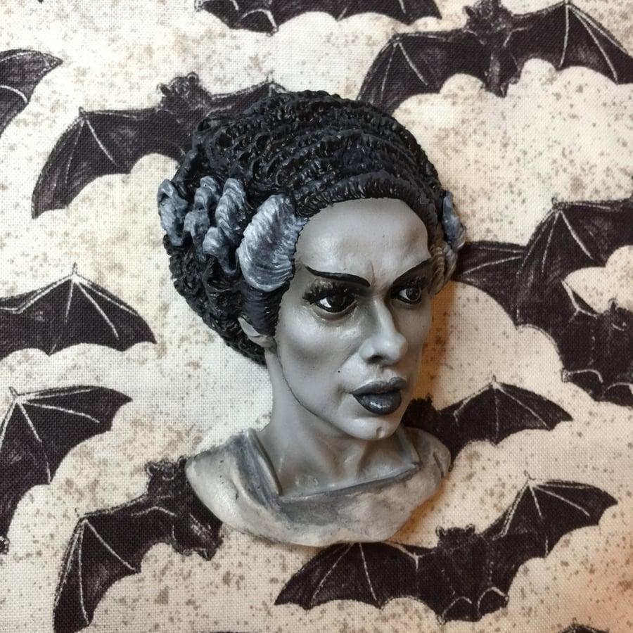 Image of The Bride of Frankenstein Brooch