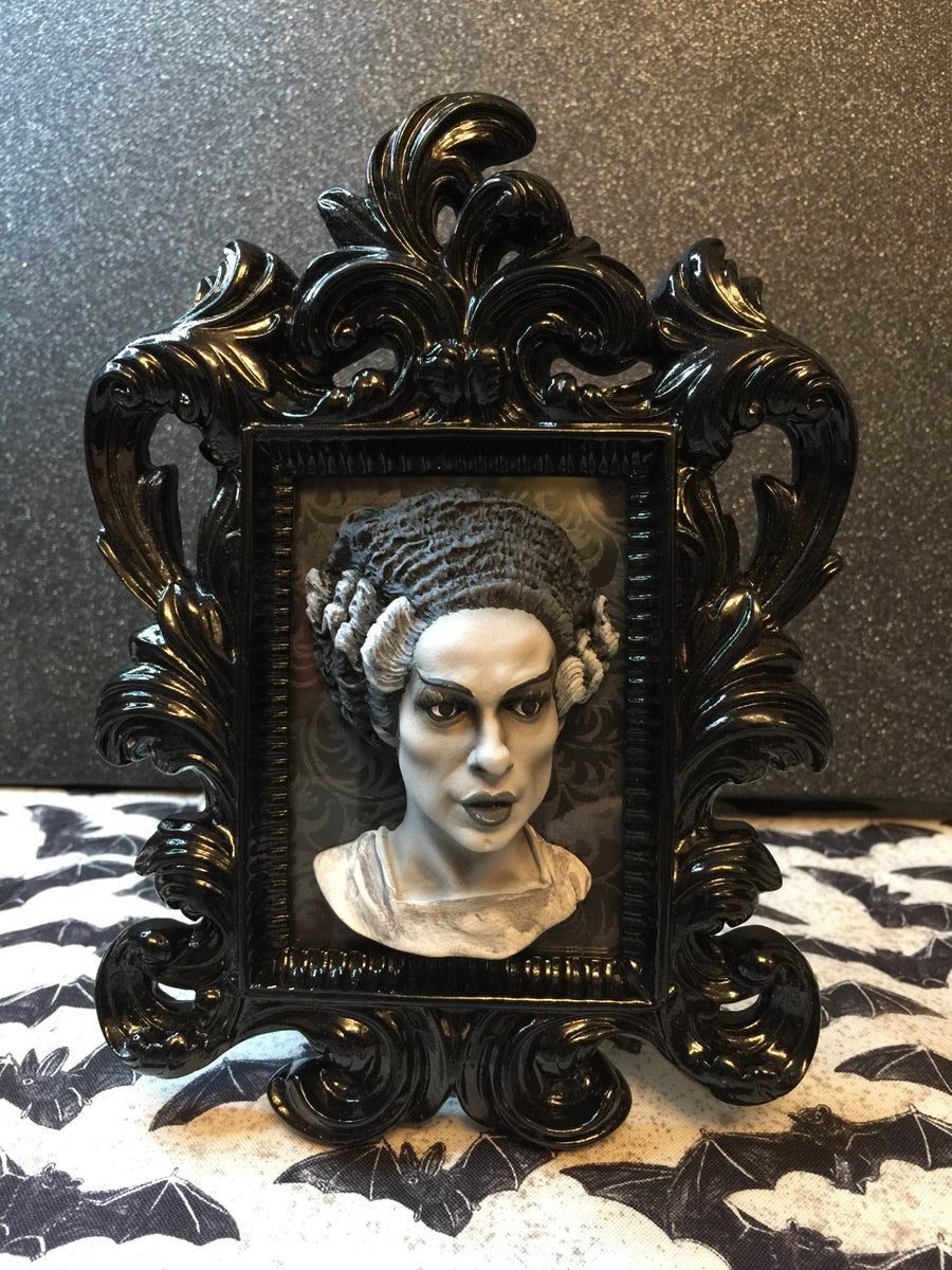 Image of The Bride of Frankenstein Framed Art