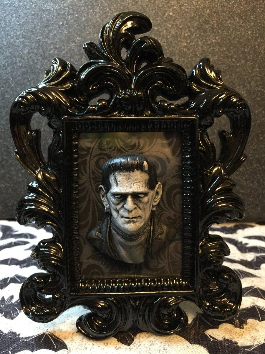 Image of Frankenstein Framed Art
