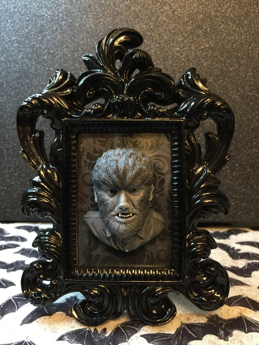 Image of The Wolfman Framed Art