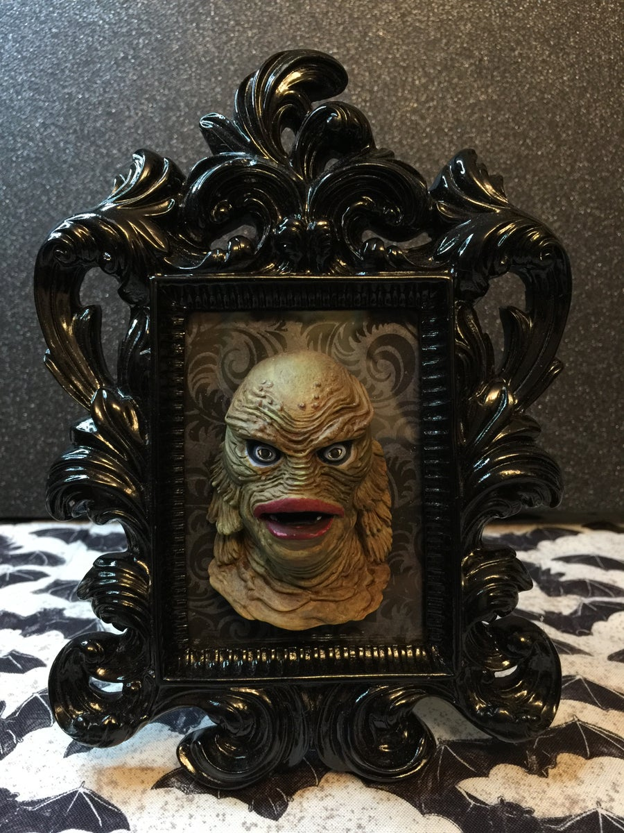 Image of The Creature of the Black Lagoon Framed Art