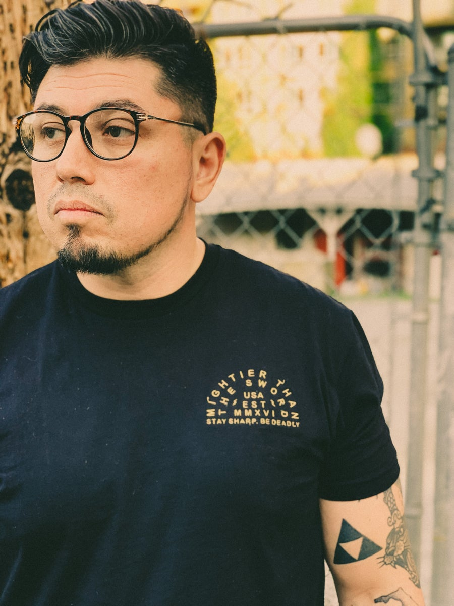 Image of Arc - Embroidered T-shirt