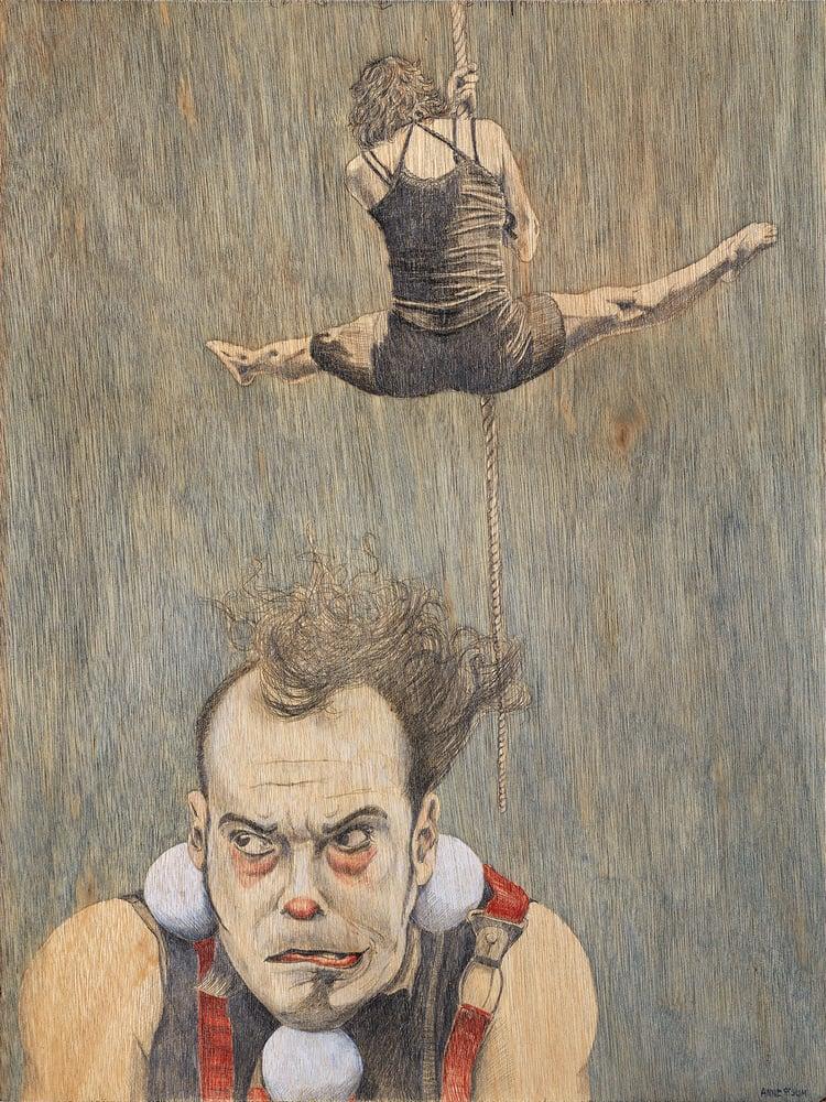 Image of Le cirque, giclee print