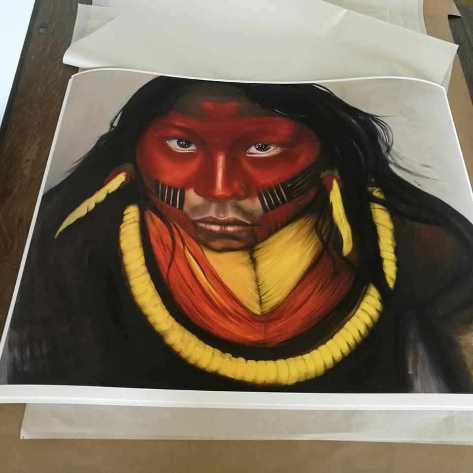 Image of True colors, Giclee print