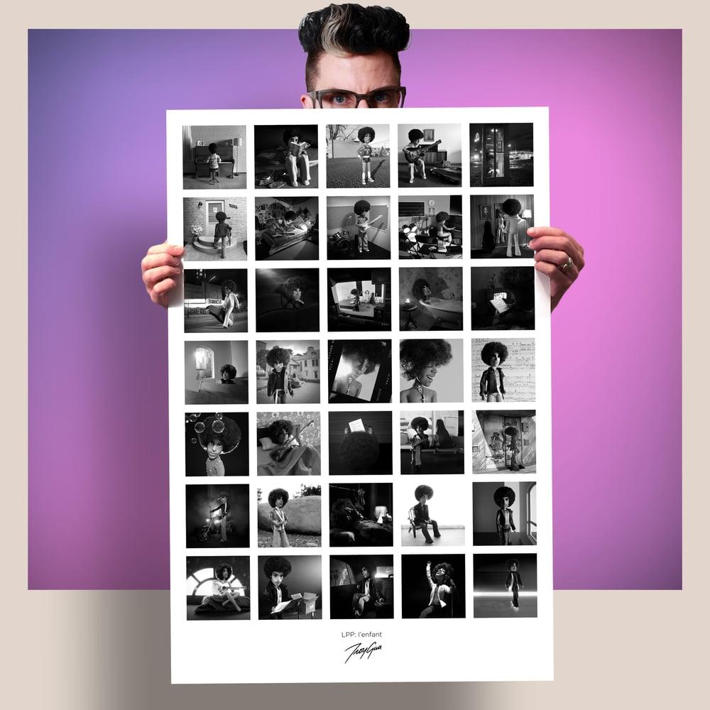 """Image of 'LPP: l'enfant' 24""""x36"""" Montage Poster"""