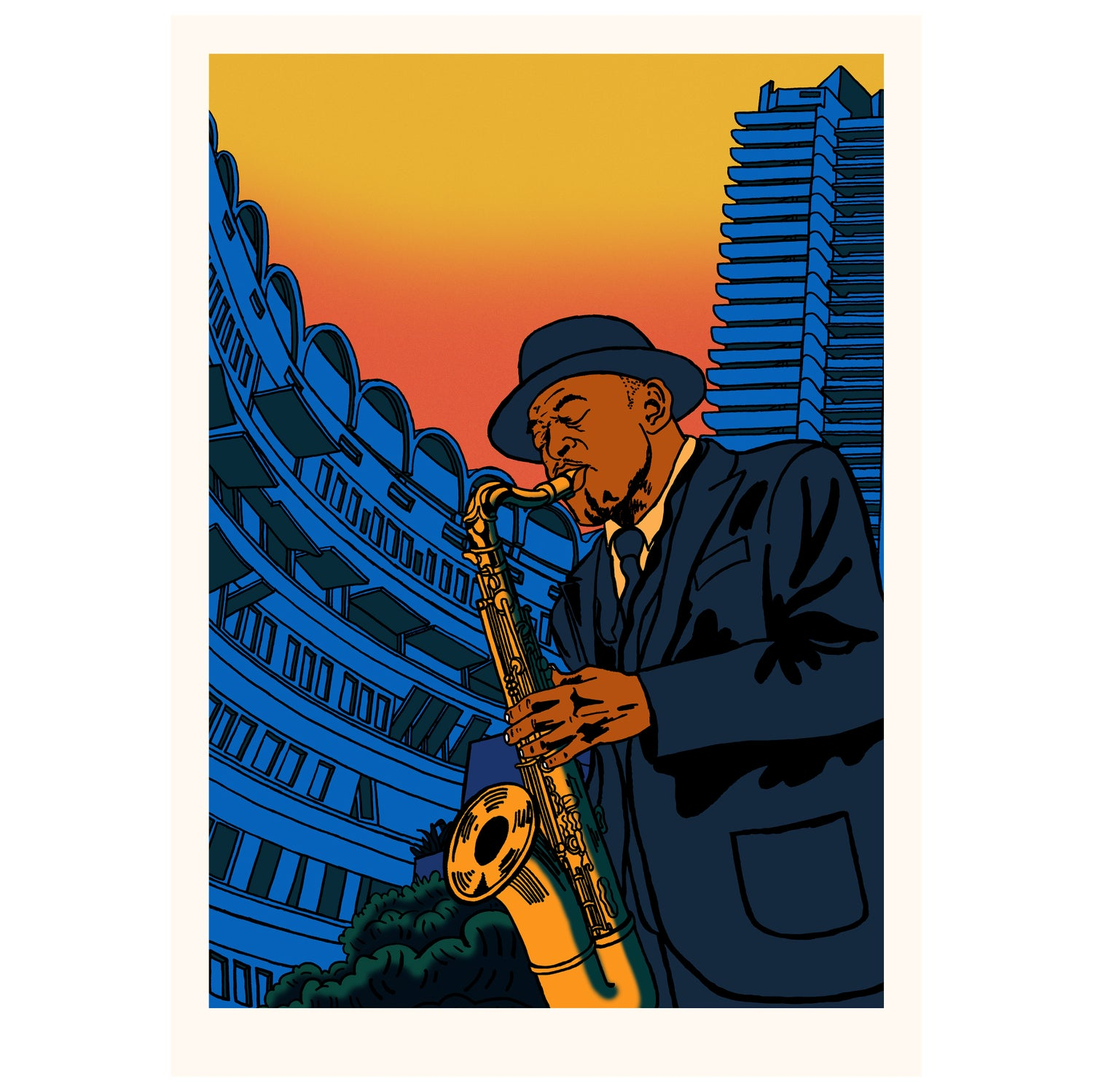 Image of Archie Shepp for Barbican (price varies according to size)