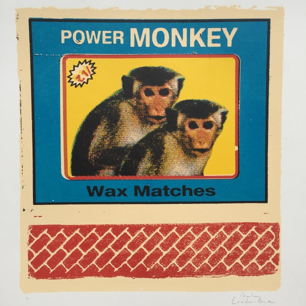 Image of Power Monkey Wax Matches by Charlie Evaristo-Boyce