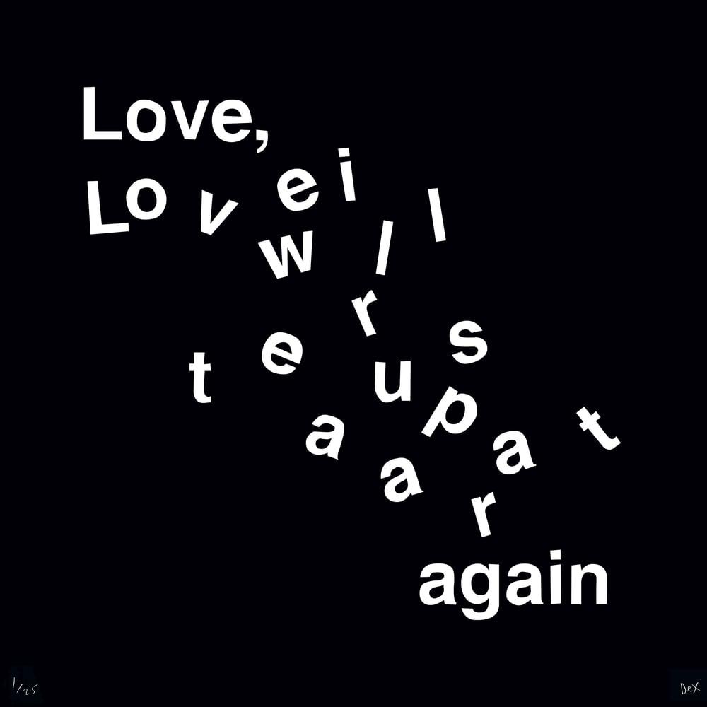 Love Will Tear Us Apart (Black)