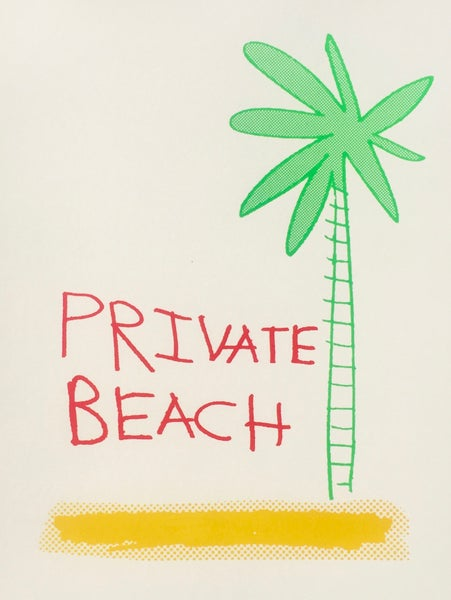 Image of Private Beach by Charlie Evaristo-Boyce