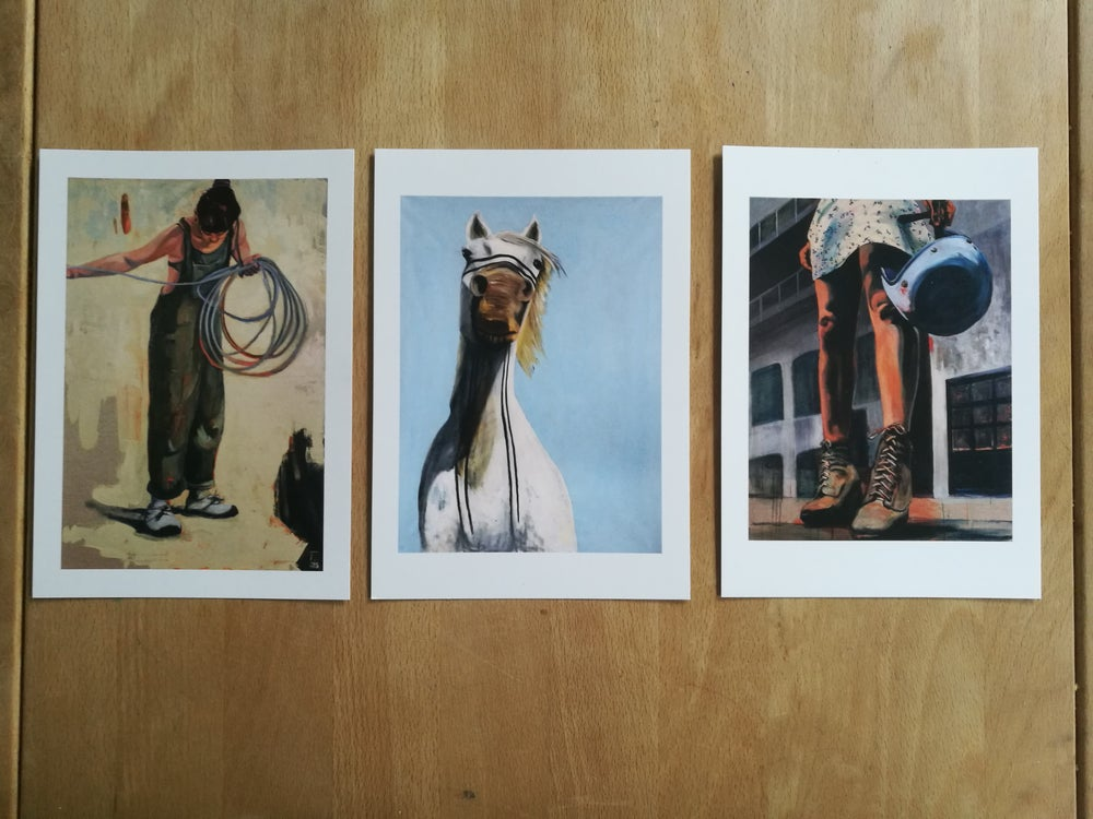 Image of 3 postcard bundle