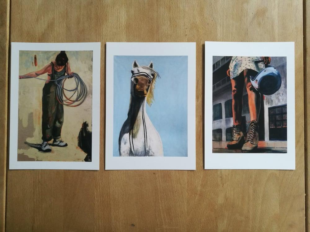 Image of 3 postcard bundle
