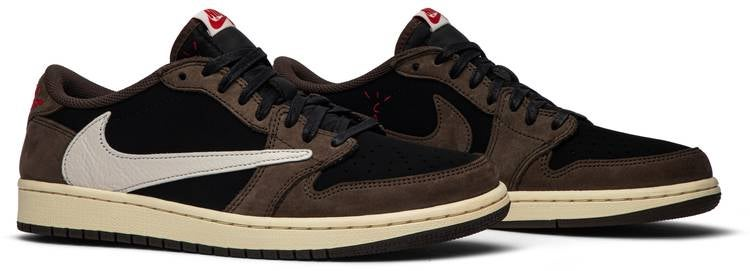 Travis Scott x Air Jordan 1 Low 'Mocha'