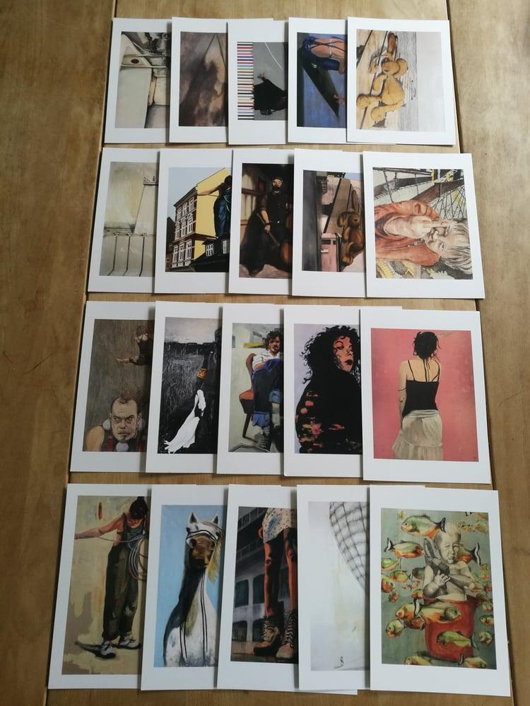 Image of 20 postcard bundle