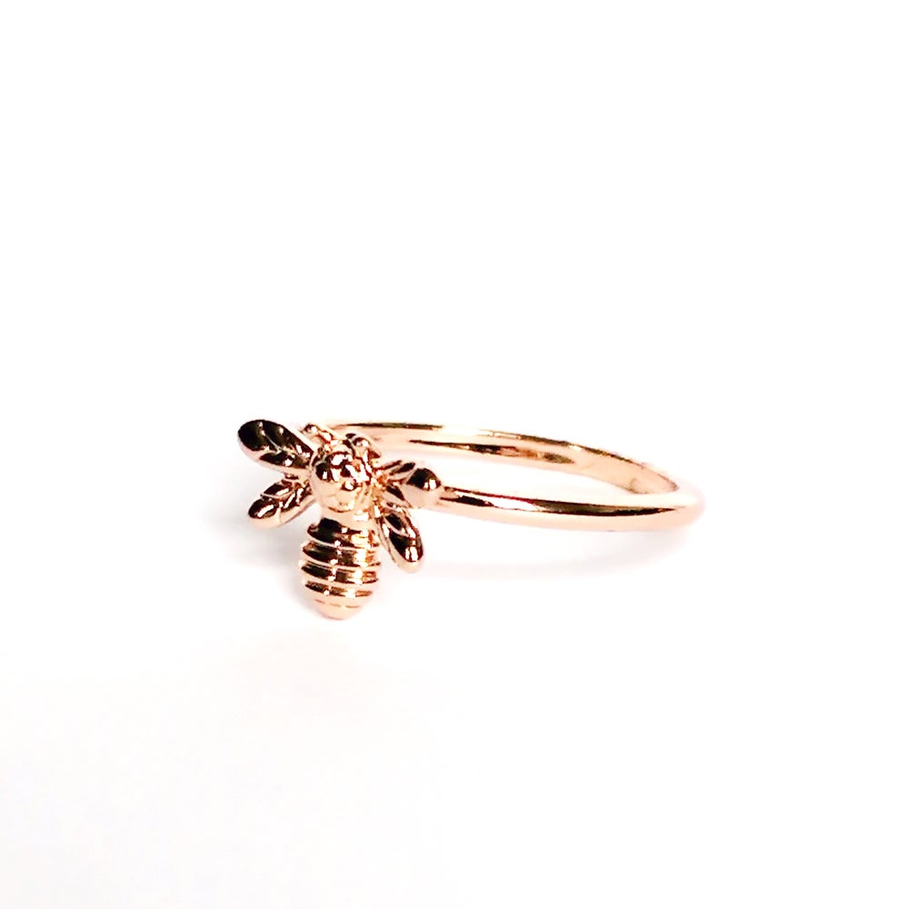 Image of Dainty Bumblebee Ring