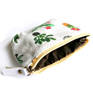 Image of Botanical Plants Coin Purse