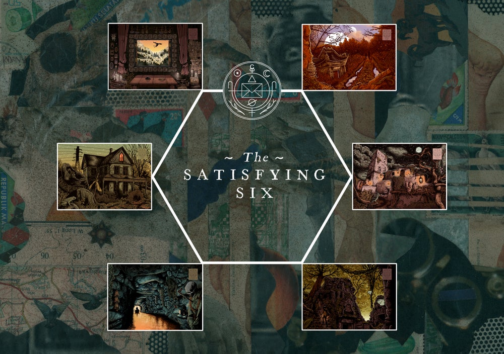 Image of The Satisfying Six | Cryptogram Curated Sets
