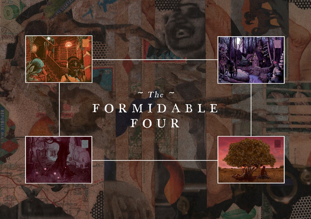 Image of The Formidable Four | Cryptogram Curated Sets