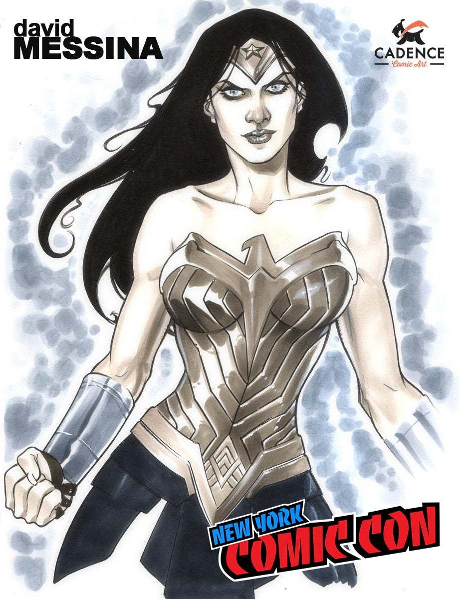 Image of David Messina NYCC Pre-Show Commission (Mail Order Available)